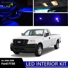 7PCS Blue Interior LED Light 2004 - 2008 Ford F150 F-150 White For ... 1956 Ford Custom Truck Interior Franks Hot Rods Upholstery 7pcs Extra Blue Led Bulbs 2004 2008 F150 White 2009 2014 Front Lights F150ledscom Semi 6 Watt Universal Dome Light For Car Suv Lil Ray Raises Bar On Interior Truck Design With Pride Polish 4 In 1 Inside Atmosphere Lamp 48 Led Decoration The Cabin Lights Ats 15x Mod American Simulator Strip Neon Motobike Safety Lvo Fh16 2012 Blue Dashboard Lights 122x Euro 8 Pcs Rock Kits For Exterior Under Off Road Set Auto Decor Lighting Floor