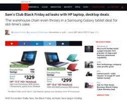 Sams Club Desktop by Sam U0027s Club Black Friday Ad Leaks With Hp Laptop Desktop Deals