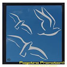 milchglasaufkleber 3er set modell 43 vögel scheibe deko fenster glastür sichtschutz badezimmer fenster autoaufkleber30cm pegatina promotion