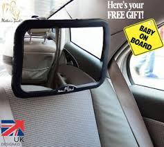 siege auto rear facing large adjustable wide view rear baby child seat car safety mirror