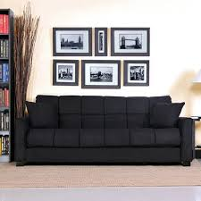 amazon com baja convert a couch and sofa bed black stylish and