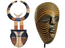 From Left Nafana Bedu Mask Ivory Coast EUR85000 Entwistle 1920s