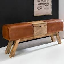 sitzbänke hocker im vintage retro stil fürs schlafzimmer