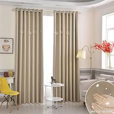 rideau occultant chambre bébé gwell rideau occultant à oeillets rideaux thermique de fenêtre de