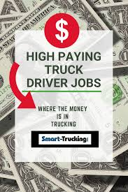 9 Of The Highest Paying Truck Driver Jobs In 2018 You Should Know ...