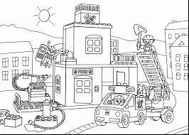 2019 Christmas Fire Truck Coloring Pages 27 Rocks – Printable ...