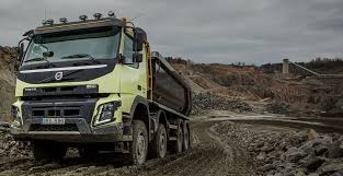 """Volvo FMX"""" – Didesnis Vairuotojo Darbo Našumas 