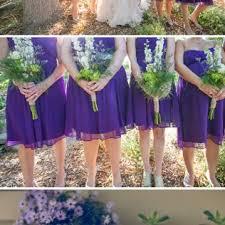 Purple Garden Wedding