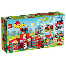 LEGO DUPLO Town Fire Station 10593 - £50.00 - Hamleys For Toys And Games Lego Duplo 5682 Fire Truck From Conradcom Amazoncom Duplo Ville 4977 Toys Games City Town Fireman 2007 Sounds Lights Lego Station Funtoys 10592 Ugniagesi 6168 Bricks Figurines On Carousell Finnegans Gifts Baby Pinterest Trucks Year 2015 Series Set Fire Truck With Moving 10593 5000 Hamleys For And 4664