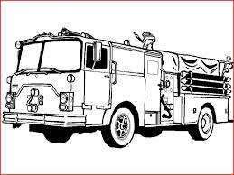 Fire Truck Coloring Pages 52852 Coloring Page A Fire Truck Beautiful ...