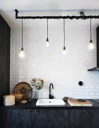 industrial pendant lighting for kitchen home design and decorating