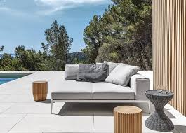 Gloster Outdoor Furniture Australia by Gloster Grid Sofa By Cosh Est Living Design Directory