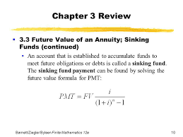 Sinking Fund Formula For Depreciation by Sinking Fund Formula Math 100 Images 15 Compound Interest