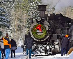 Durnago Christmas Tree Train