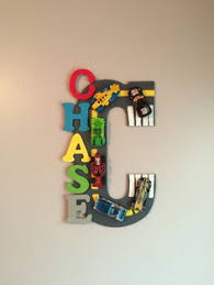 Hand Painted Wooden Letters Cars and NASCAR