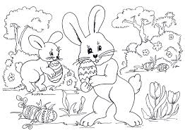 Coloring Pages Throughout Free Easter Bunny Printable Sheets Colouring Christian Full Size