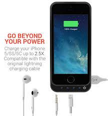 Amazon PowerBear Battery Case iPhone 5SE 5S 5C 5