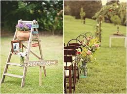 Outdoor Decoration Ideas For Rustic Weddings Wedding DecorationsCeremony