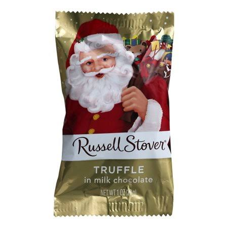 Russell Stover Truffle, in Milk Chocolate - 1 oz