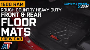 100 Heavy Duty Truck Floor Mats 2019 RAM 1500 Rough Country Front Rear 2019 Crew Cab Review Install