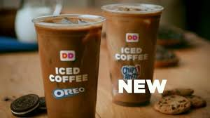 Large Pumpkin Iced Coffee Dunkin Donuts by Dunkin U0027 Donuts Oreo And Chips Ahoy Iced Coffees Tv Commercial