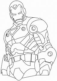 Free Coloring Pages For Kids 100 New Iron Man