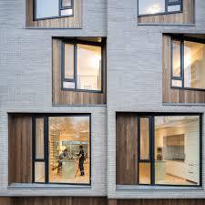 100 Townhouse Facades CORE Modern Homes BatayCsorba Architects ArchDaily
