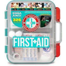 Sams Club Small Deck Box by Be Smart Get Prepared First Aid Kit 326 Pc Sam U0027s Club