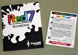Red7 Card Game Rulebook