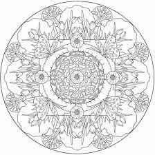 Coolest Coloring Nature Mandala Pages With Butterfly To Color From Mandalas Book