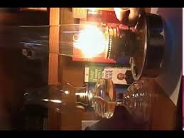 Aladdin Kerosene Lamp Model 12 by Aladdin Kerosene Mantle Lamp Model 23 Youtube