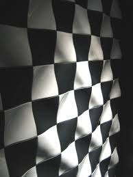 Chess Tiles Black And White