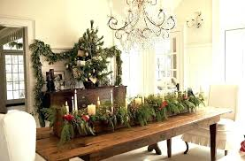 Natural Christmas Decorations Ideas Dining Table Rh Justcope Co Room Chair Covers