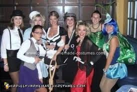 Coolest Clue Characters Group Costume