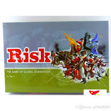 Risk For 2 6 Player Strategy Board Game Global Domination War Games Family With English Version Funny Children From