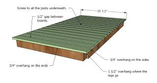 Plans For Wooden Patio Table by Adorable Plans For Patio Table And Ana White Simple Outdoor Dining