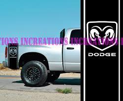 100 Ram Truck Decals For Universal 1Set2Pcs Hemi Dodge Rear Bed Stripes