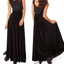 plus size high waisted black maxi skirt u2013 modern trending things