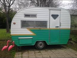 1960 12 Tiny Camping Trailer For Sale