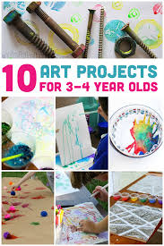 If You Have Preschool Aged Kids That Loves Art Projects Are Going To Love