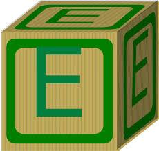 Letter Alphabet Block E Clip Art at Clker vector clip art