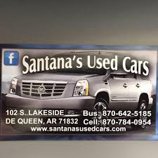 Santana's Used Cars - Home | Facebook