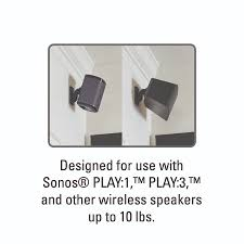 Sonos Ceiling Speakers Australia by Sanus Adjustable Speaker Wall Mount Designed For Sonos