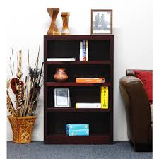 Ameriwood Desk And Hutch In Cherry by Ameriwood Resort Cherry Open Bookcase 9416207p The Home Depot