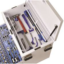 100 Truck Tools Box Tool Kit 279 Piece 14 38 12 Square Drive Vehicle