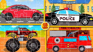 Puzzle Games For Kids | Compilation - YouTube Racing Games For Toddlers Android Apps On Google Play Fire Truck Cartoon Games For Children Monster Stunt Videos Kids Police Tow Car Wash Toddlers Youtube Tow Truck Car Wash Game Pinterest Vehicles Match Carfire Truckmonster Cars Ice Cream Truckpolice