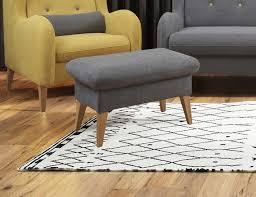 hocker sitzhocker polsterhocker farbe wählbar wohnzimmer