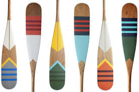 decorative oars and paddles canoe dig these handpainted paddles by northern newcomers norquay