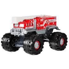 100 Stomper Toy Trucks Matchbox Flame Fire Truck Vehicle 124 NEW BGY74 EBay