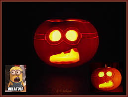 Minion Pumpkin Carving Tutorial by Minion Pumpkin Template Virtren Com